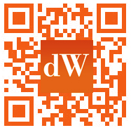 Developer Works Branded QR Code