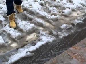 boots in slush